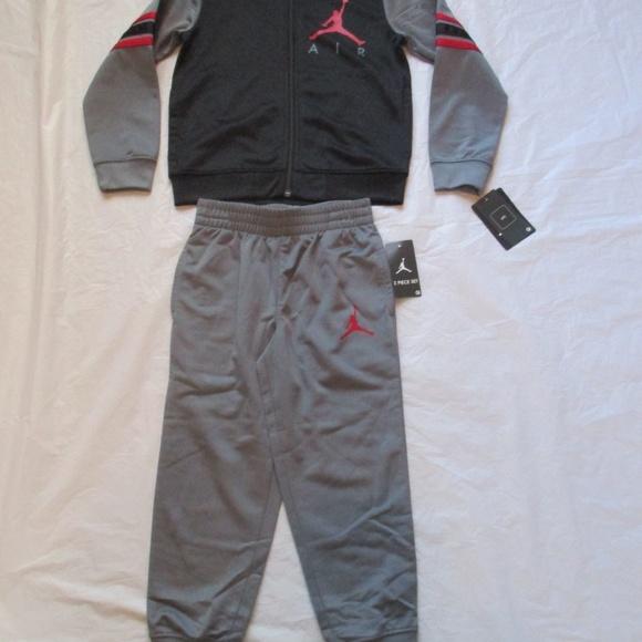 Nike Air Jordan Tracksuit 2 Piece Grey